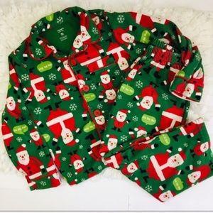 Carter's unisex Fleece Christmas PJ Set 5T